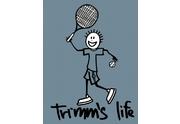 Tričko Tenis Cherry red