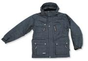 THERON - Snowboardová bunda pánská šedá 2XL