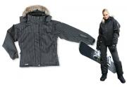 DONNA - Snowboardová bunda dámská Černá Jet L