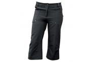 TREKFLEX 3/4 DÁMSKÉ Elastické outdorové kalhoty 3/4 dámské černá L