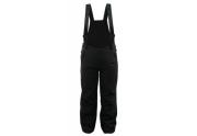 SKILACKIK BLACK&BLACK - Softshellové lyžařské kalhoty s výplní dětské Černá 134 - 140